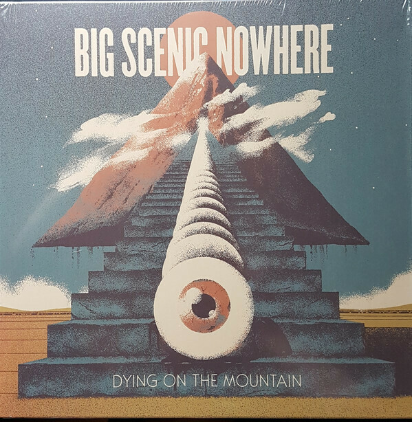 """Big Scenic Nowhere - Dying On The Mountain 12"""" (azul)"""