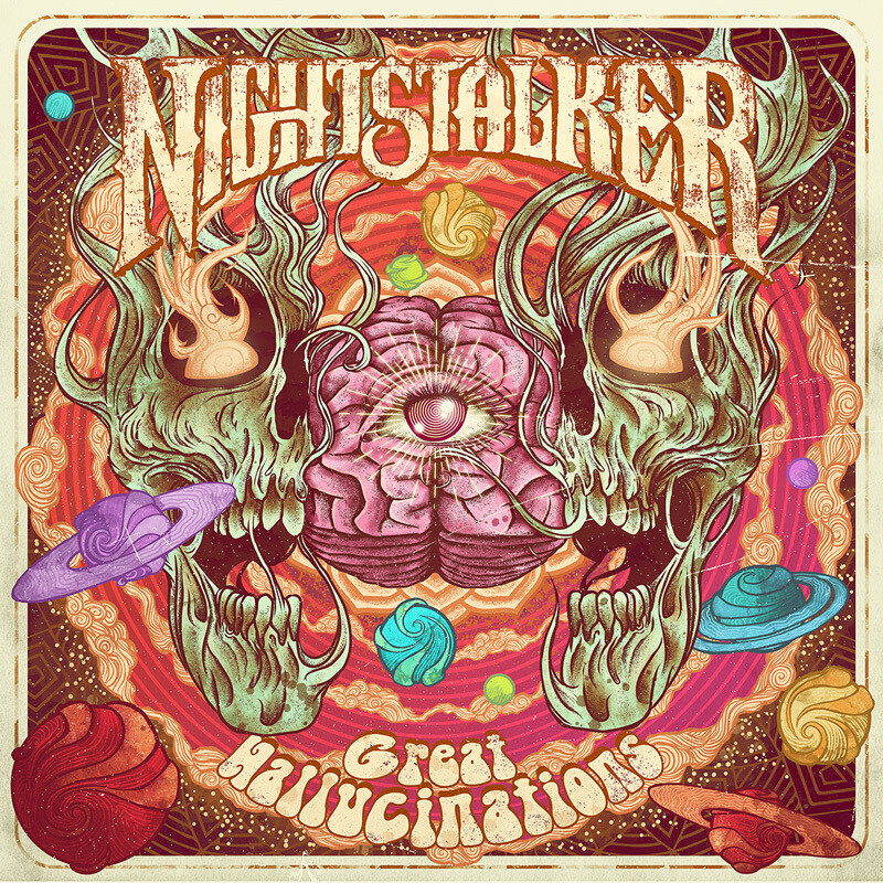 Nightstalker - Great Hallucinations - LP