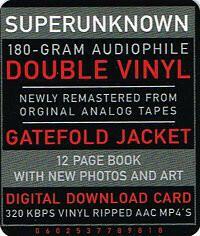 Soundgarden - Superunknown - 2LP - Remaster