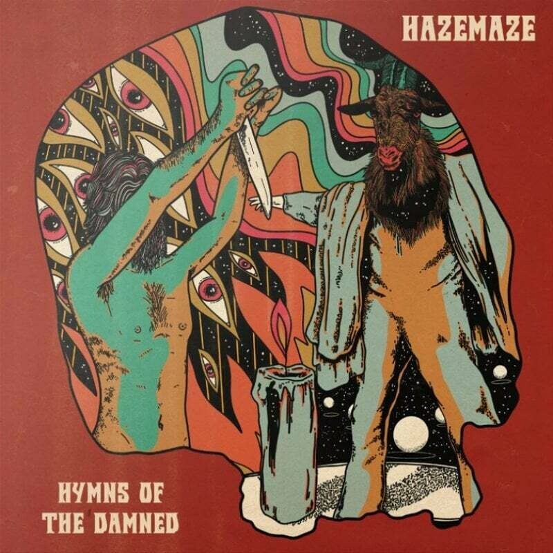 HAZEMAZE - Hymns Of The Damned (yellow) LP - (PreOder)