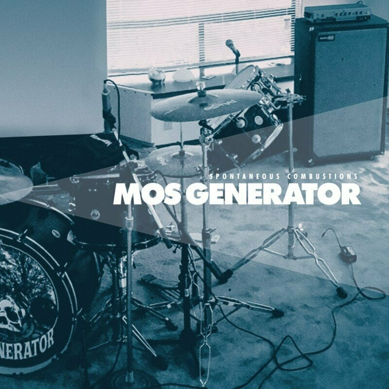 Mos Generator - Spontaneous Combustions (transparent blue) LP