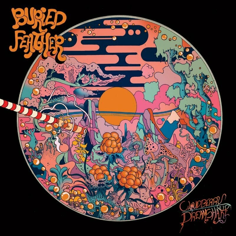 Buried Feather - Cloudberry Dreamshake (transparent orange) LP