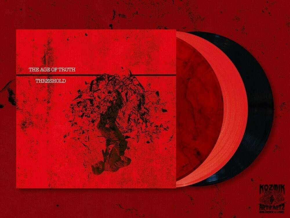 AGE OF TRUTH, THE - Threshold (solid red) - LP