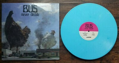 Bus - Never Decide (azul) - LP