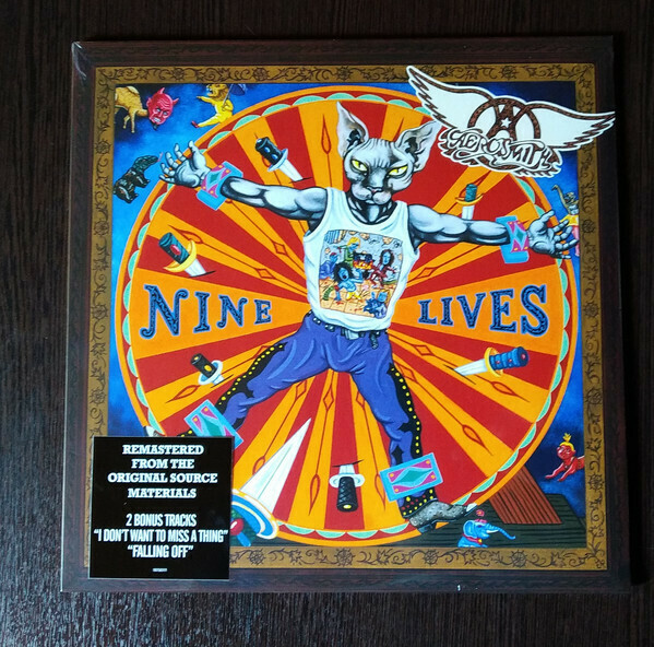 ​Aerosmith ‎- Nine Lives -2LP (2019 Reissue + Bonus Tracks)