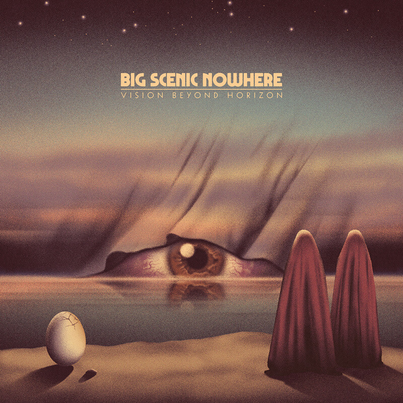 ​Big Scenic Nowhere - Vision Beyond Horizon (Purple) - LP (PreOrder)