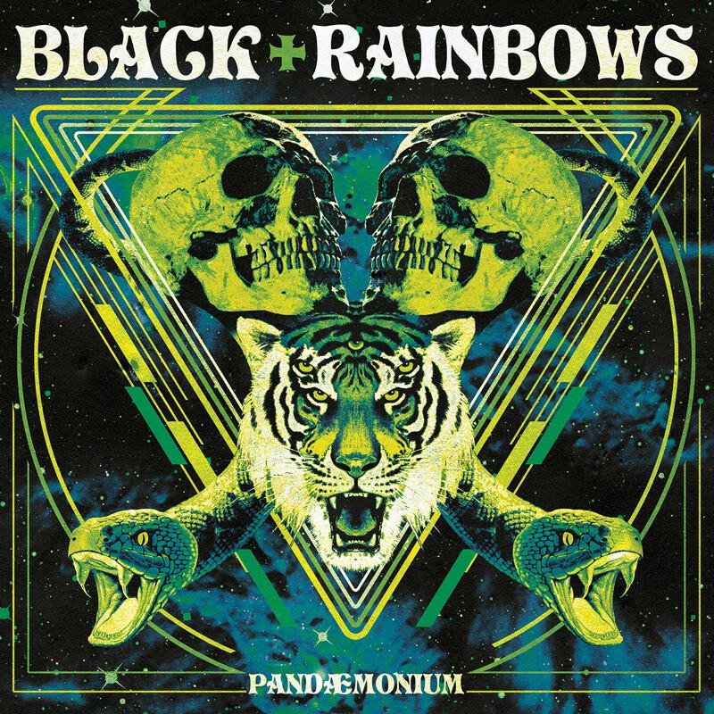 Black Rainbows - Pandaemonium [2020 Repress] Green Fluo Vinyl - (Green Cover) (PreOrder)