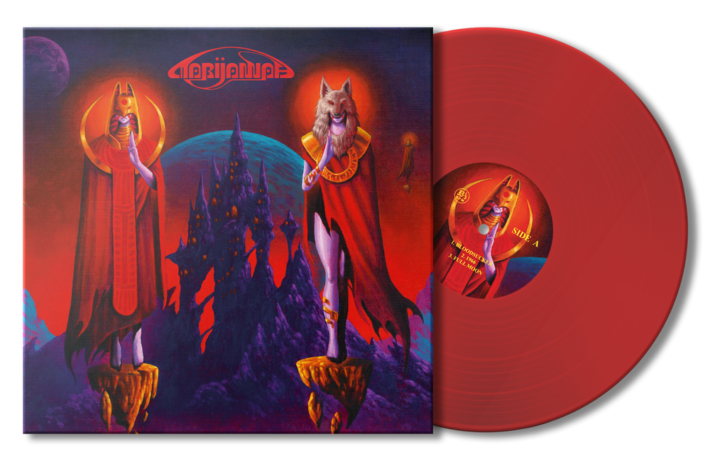 MARIJANNAH- 'ISTANAH' LTD BLOODSUCKING RED EDITION - LP