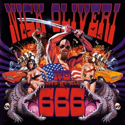 NICK OLIVERI - N.O. HITS AT ALL VOL.666 - LP (PreOrder)