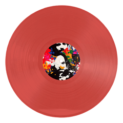 EMILE - THE BLACK SPIDER / DET KOLLEKTIVE SELVMORD- (Transparent Red) LP - (PreOrder)