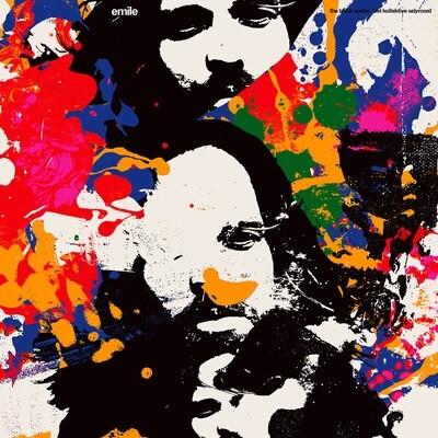 EMILE - THE BLACK SPIDER / DET KOLLEKTIVE SELVMORD- LP - (PreOrder)