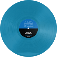BRANT BJORK - GODS & GODDESSES -  LTD TRANSPARENT BLUE LP- (PreOrder)