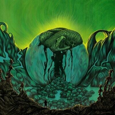 YURI GAGARIN - The Outskirts Of Reality (black) LP