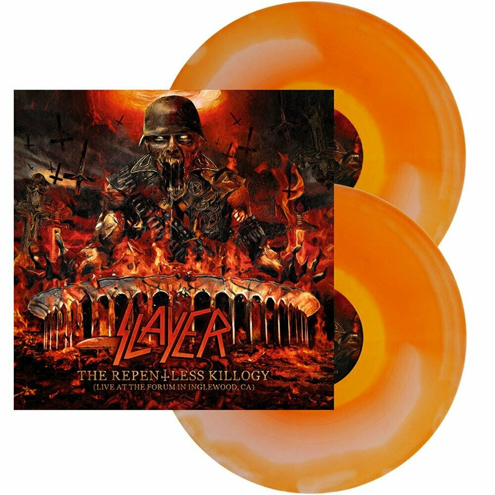 Slayer - The Repentless Killogy, Live... (Orange/White Ink) - 2LP