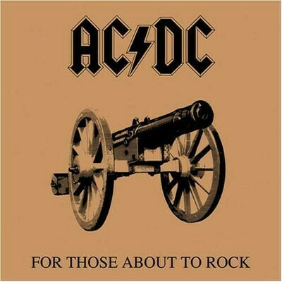 AC/DC - For Those About To Rock (We Salute You) LP