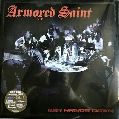 Armored Saint - Win Hands Down 2LP dorado