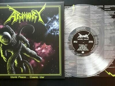 Armory - World Peace ... Cosmic War LP transparente