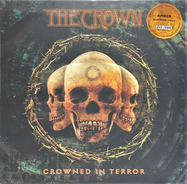 The Crown - Crowned In Terror (ámbar marmóreo)