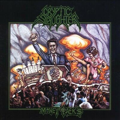 Cryptic Slaughter - Money Talks (2ª mano original 1987)