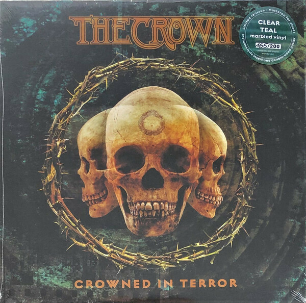 The Crown - Crowned In Terror (azul verdoso marmóreo)