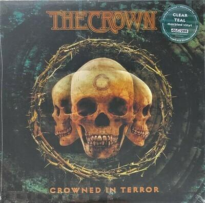 The Crown - Crowned In Terror (azul verdoso marmóreo)