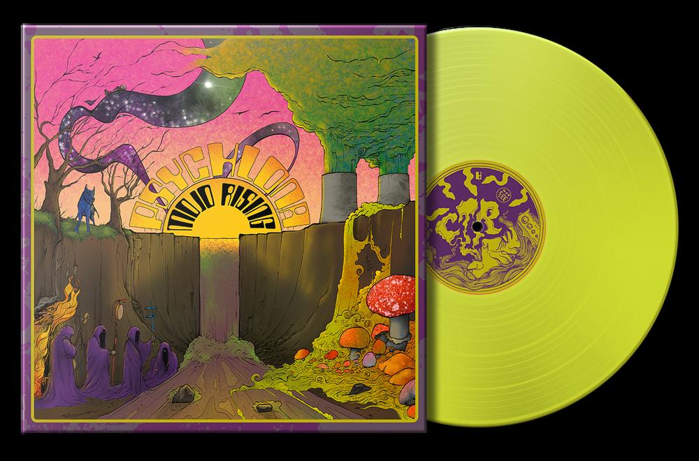 Psychlona - Mojo Rising (Ltd Radioactive Neon Yellow Edition Repres)  -LP