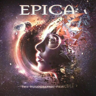 Epica - The Holographic Principle 2LP transparente
