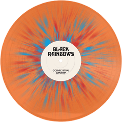 Black Rainbows - Cosmic Ritual Supertrip (Ltd Transp. Orange Splatter Blue / Red Vinyl) - PreOrder