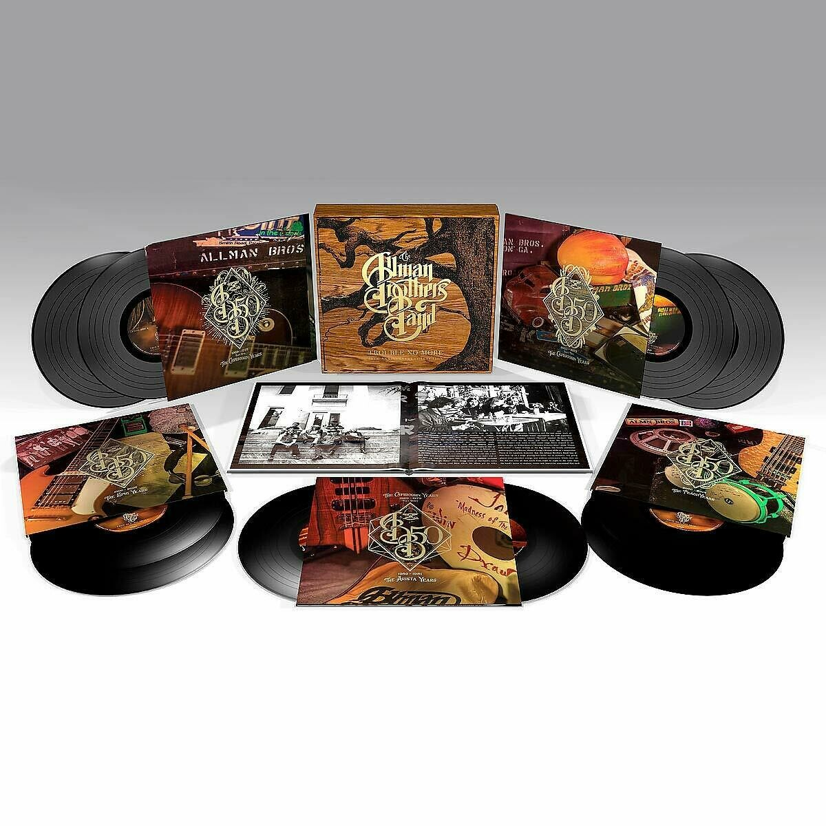 The Allman Brothers Band - Trouble No More 50th Anniversary Collection - BOX 10 LP