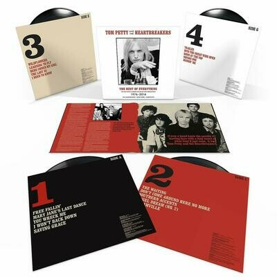 Tom Petty And The Heartbreakers - The Best Of Everything. The Definitive Career Spanning Hits Collection 1976-2017 - 4LP BOX