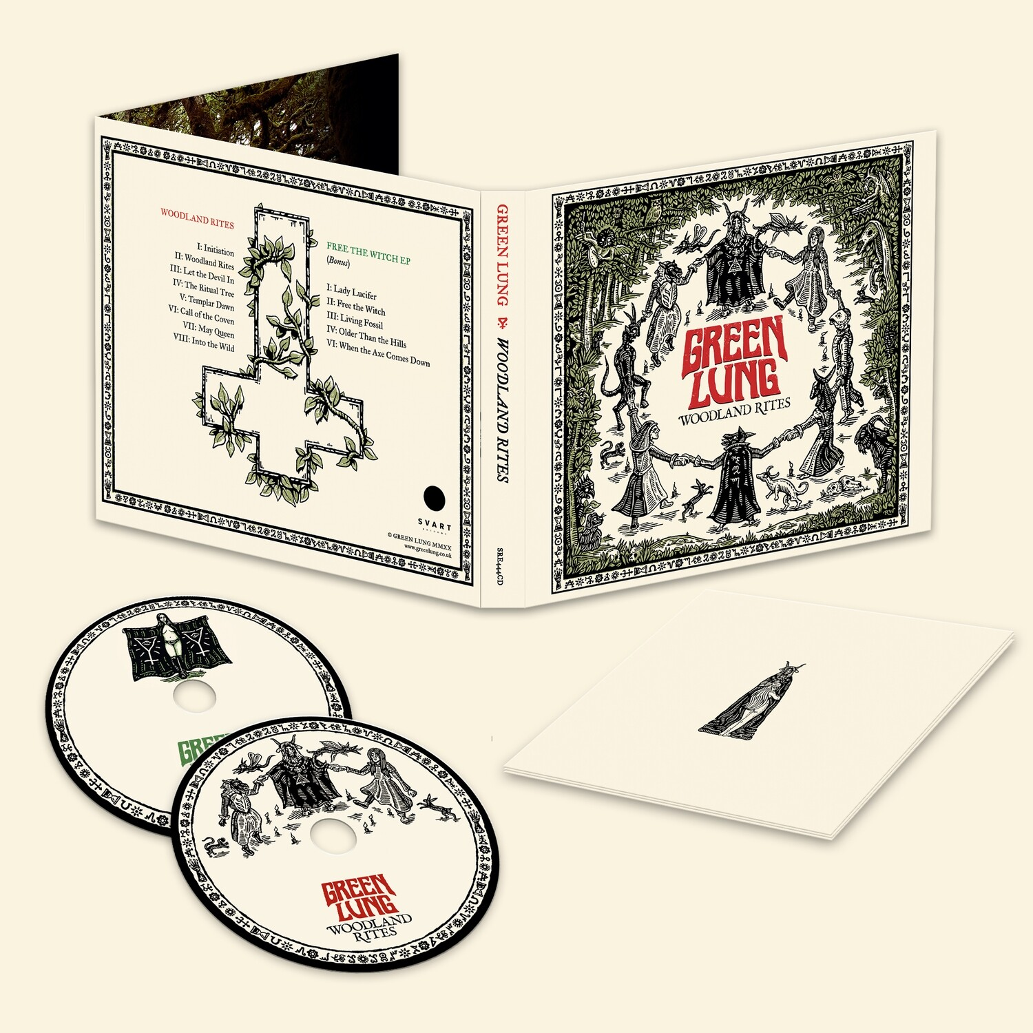 Green Lung - Woodland Rites -2CD- PreOrder