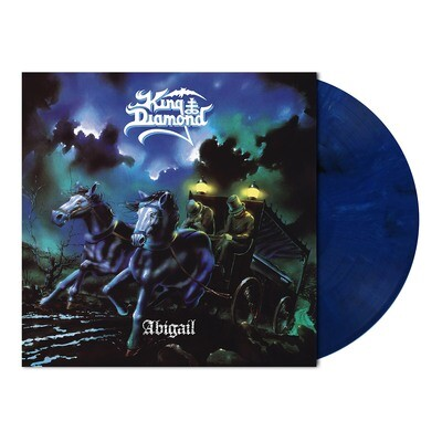 King Diamond - Abigail - LP (Midnight Blue/White Marbled Vinyl - Ltd. 1000) - PreOrder