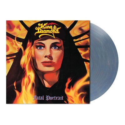 King Diamond - Fatal Portrait (Clear Blue Red Marbled Vinyl - Ltd. 300) - PreOrder