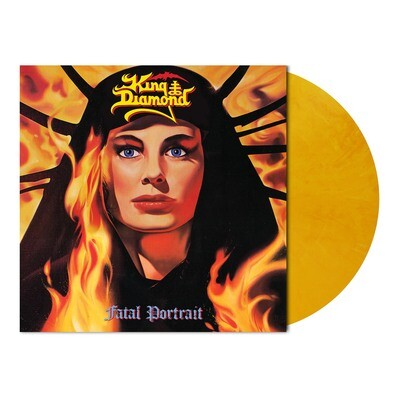 King Diamond - Fatal Portrait (Golden Yellow Marbled Vinyl - Ltd. 500 - PreOrder