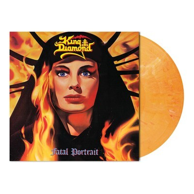 King Diamond - Fatal Portrait (Melon Orange Marbled Vinyl - Ltd. 1000) - PreOrder