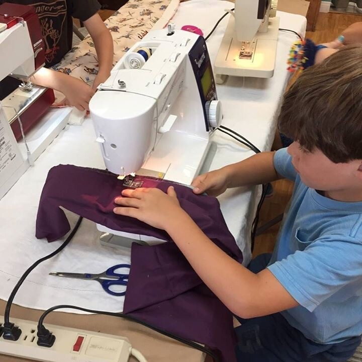 Kids Introduction to the Sewing Machine