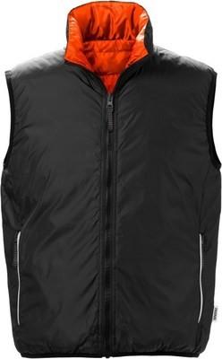 Fristads Gevoerd (Bodywarmer) Vest aan 2 Zijden Draagbaar
