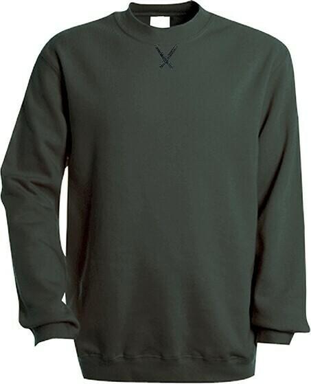 Kariban K442 Hooded Sweater met ronde hals