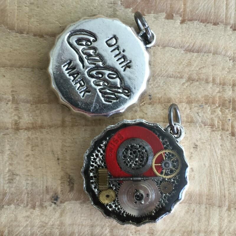 Coca-Cola Steampunk Pendant