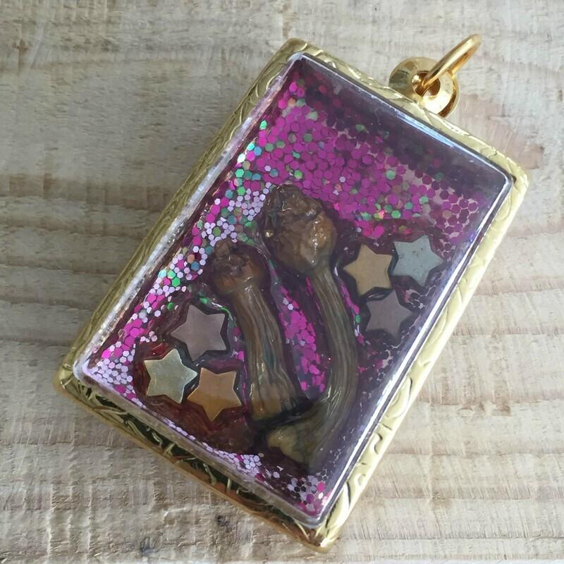 Magical Glitter Terrarium Pendant