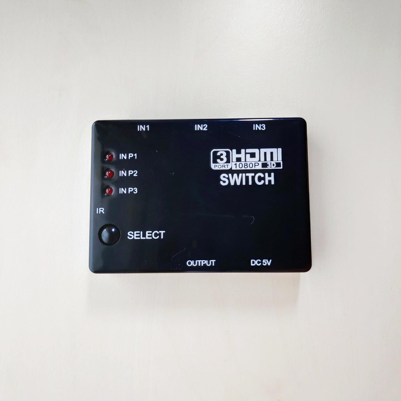 HDMI SWITCH 1080p