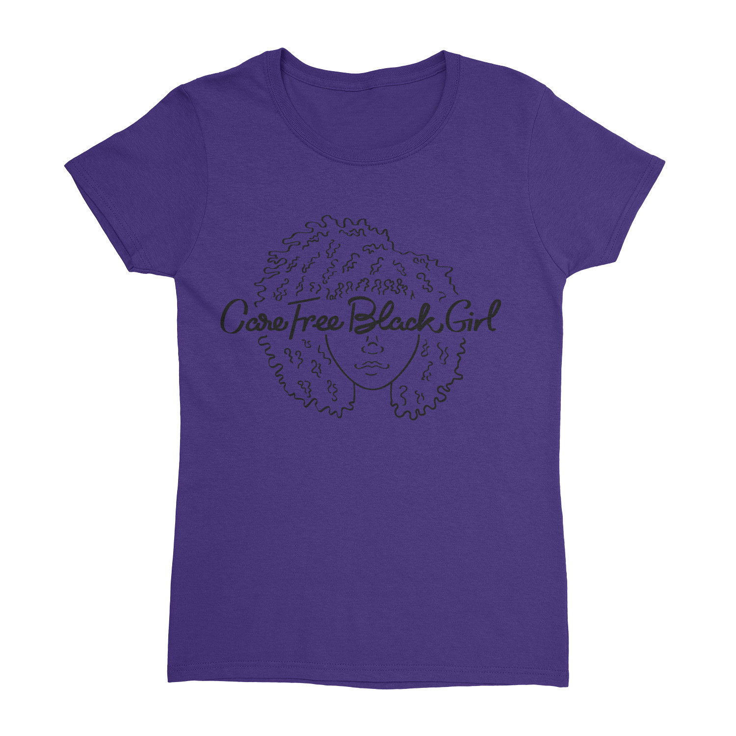CAREFREEBLACKGIRL WOMEN'S CUT