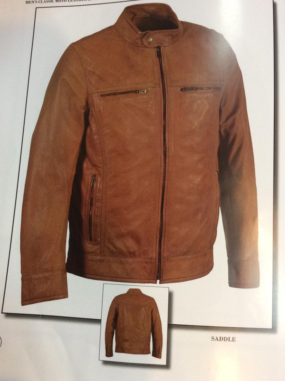 Men Leather Jacket Lamb Leather Color Black ..saddle .....broken Brown  Size M  to 2xl