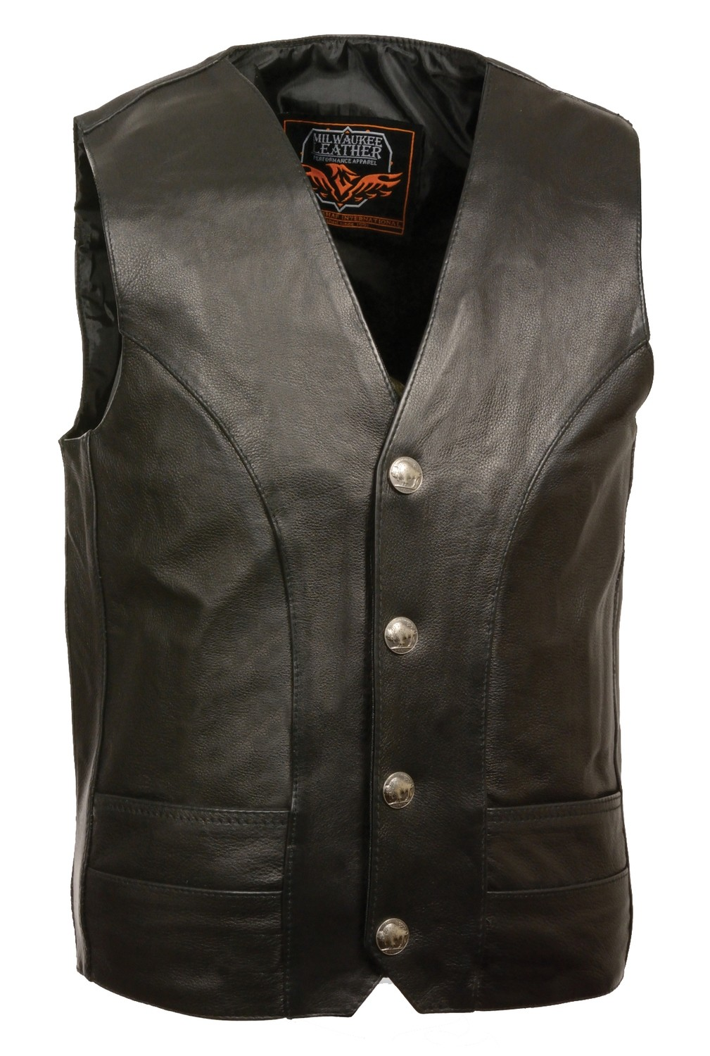 Men Leathe Vest