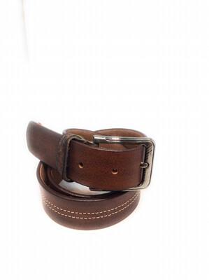 Men genuine leather belt