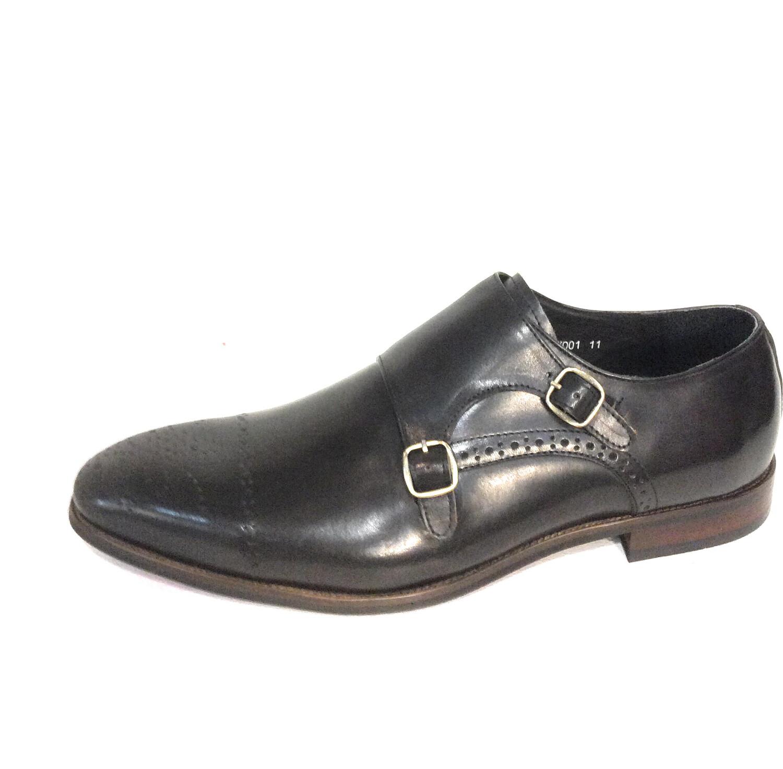 Men leather shoes   Zota hx001 black