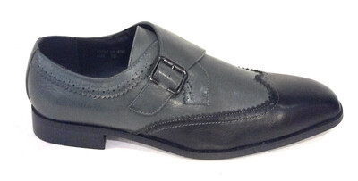 Men Shoe Black And Grey