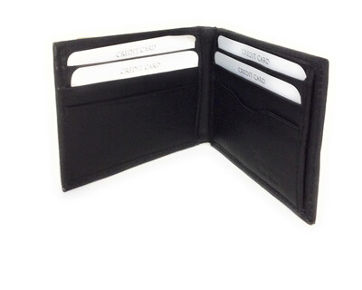 Real Leather Money Clip