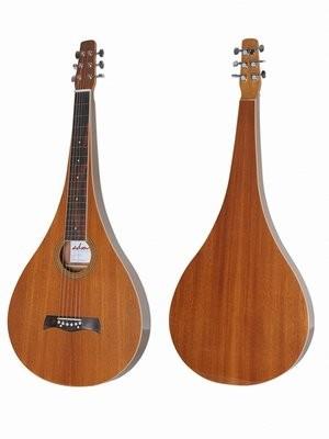 ADM Teardrop Shape Acoustic Weissenborn Style Lap Steel Guitar