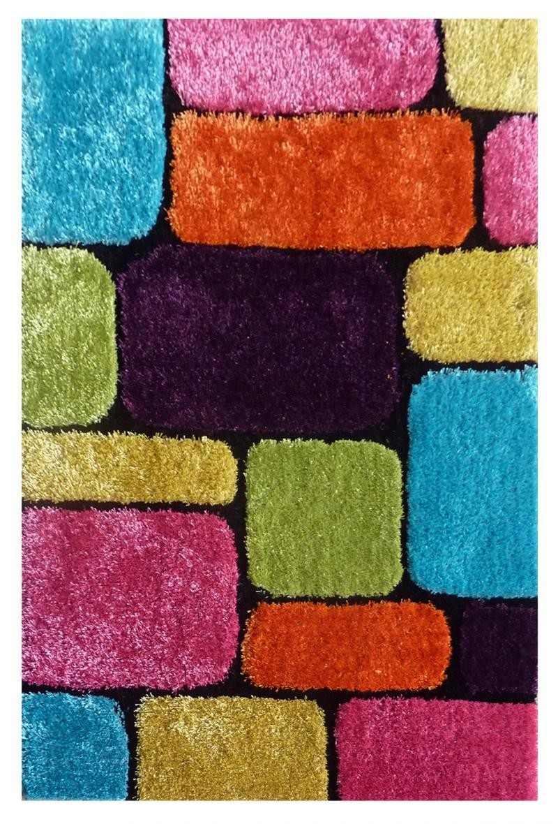 "Exotic New Multi-Color Area Rug 39"" x 58"""